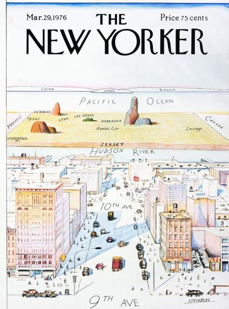 SaulSteinberg in New Yorker